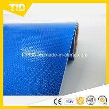 Blaues Reflektierendes Vinyl für Außenwerbung