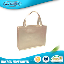 Bopp Glossy PP Shopping Tote Bag Laminated Non Woven Bag