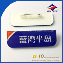 Super cheap price plastic name badge with very good quality