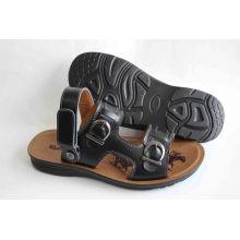 Классический стиль Мужская пляжная обувь с эффектом кожи Верхняя (SNB-14-002)