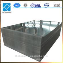 Hoja de aluminio de alta reflexión Mirro Finish o Decoración