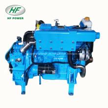 HF-4108 4-cylinder 90hp motor marino