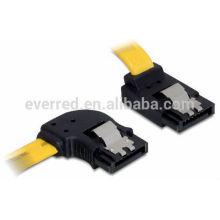 SATA 6 Gb / s ANGLE GAUCHE Câble SATA7P (ERS033)