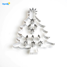 Stainless Steel Large Christmas Tree Cookie Cutter Bulk