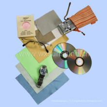 Tissu de nettoyage de lunettes microfibres (SC-004)