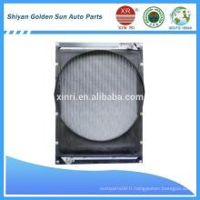 Radiateur en tube d'aluminium pour radiateur tracteur FOTON 1419313106001