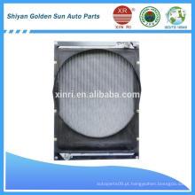 Radiador de tubo de alumínio para FOTON Tractor Radiator 1419313106001