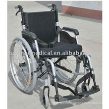 Aluminum folding removable arm type and detachable leg rest wheelchair BME4636