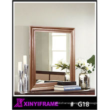 Antique Simple Decorative Carved Wood Mirror Frames