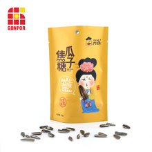 Bolsa de plástico laminado de 3 capas para el envasado de semillas.
