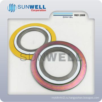 Спирально-навитые прокладки, уплотнительные кольца, внутреннее и Наружное кольцо Прокладка