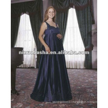 Spaghetti Strap Empire Pregnant Wedding Dress