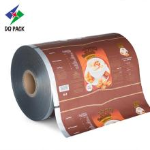 Drink powder packaging film roll