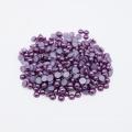 Gros Z48-Dark Blue Purple ABS Flatback demi-ronde perles perle ongles