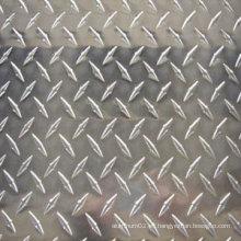 Hoja de aluminio estampada en estuco