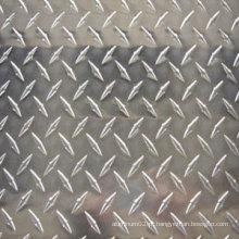Folha de alumínio estampada em estuque