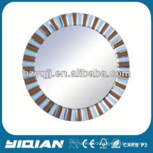Traditional Delicate Round Frameless Bath Mirror