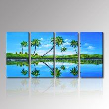 100% Hand Painted Seascape Oil Painting for Wall Decoration (SE-310)