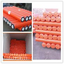Orange PE Tarpaulin Roll/PE Tarp Roll/Poly Tarp Roll
