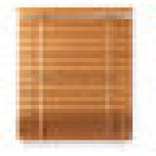 """2 """"cortinas de PVC cortinas venezianas de madeira do falso"""