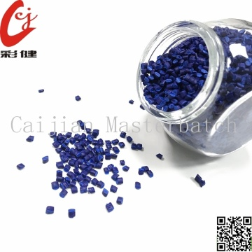 Grânulos Masterbatch Blue Wire