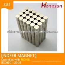super strong sintered neodymium magnet price disc N52