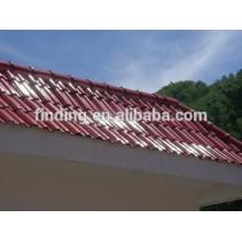 color bajo costo cemento techo azulejo hecho a máquina en la máquina del azulejo de azotea china hormigón