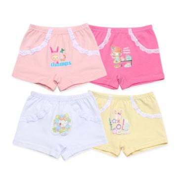 Professional Factory Supply Princess Stylish School Girl Underwear Cotton Pants