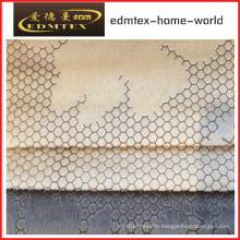 Embossed Velvet 100% Polyester Textile Fabric (EDM5129)