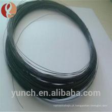 Fio do molibdênio do preto de 0.18mm EDM