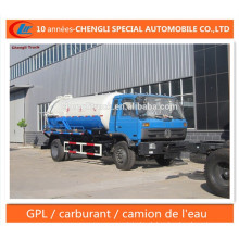 Dongfeng Eaux Usees Aspiration Camion Sewage