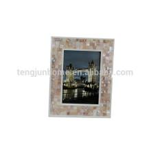 Coquille de noix de nacre cadre décoratif capiz cadre de coquille