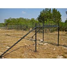 Alta cerca galvanizada del campo de ganado de los 1.2m / cerca de las ovejas / cerca de malla de alambre animal para el ganado