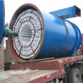 Revolving reverse blow blowpipe bag filter