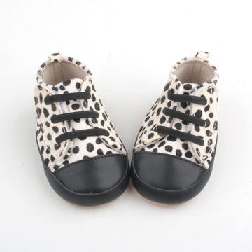 Mo Hair Leopard Unisex First Walkers Zapatos casuales