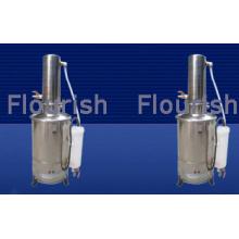 Distillation électrique de l'eau de laboratoire