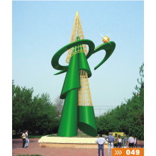 Large Modern Arts Stainless steel Abstract Sculpture for Outdoor decoration