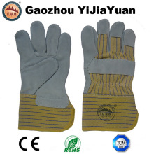 Cow Split Leather Working Gloves with Ce En388