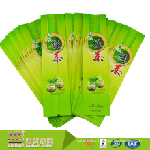 Moisture Proof Heat Seal Three-Side Sealed Or Stand Up Organic Empty Tea Bags With Custom Logo Printing
