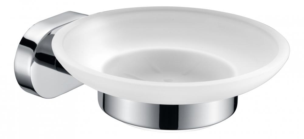 soap dish on wall