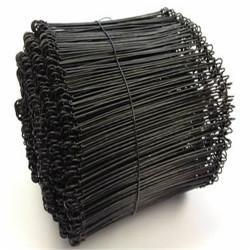 Μαύρο Διπλό Loop Tie Wire