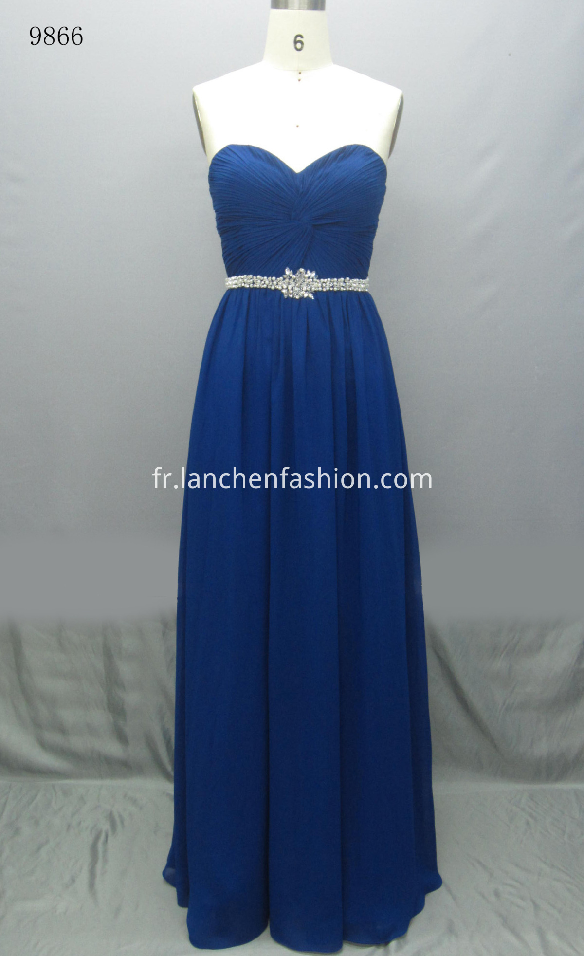 Elegant Maxi Dress ROYAL
