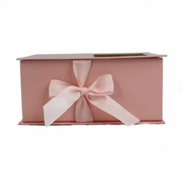 Book shaped chocolate paper box with window