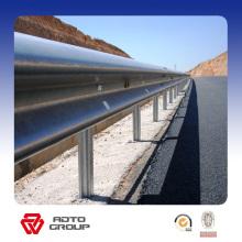 barrera de choque de la carretera y barandillas de la carretera y seguridad vial