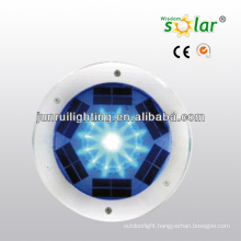 Portable CE RGB color solar brick lamp with LED light outdoor solar light