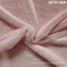 PV Plush/ Polyboa / Tricot Velboa / Warp Knit Boa Esth-49A