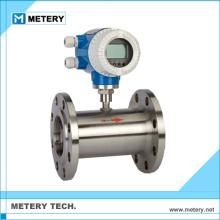 Caudalímetro de turbina de gas de aire de etilenglicol
