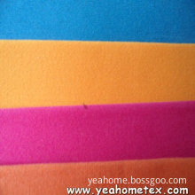 Tricot Fabric with Flocking Finish