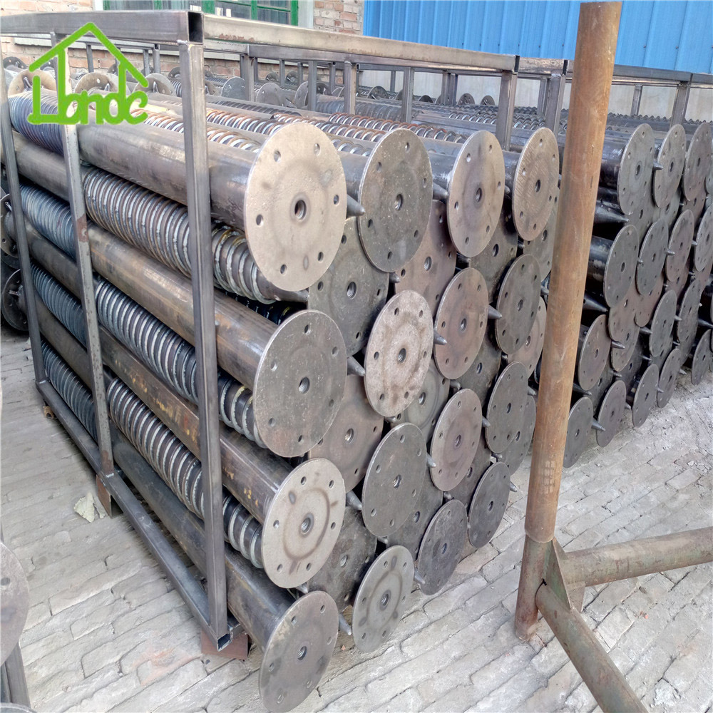 Russia ground screw piles