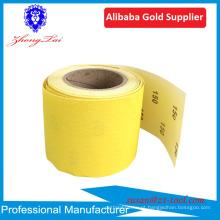 rolo de papel abrasivo jumbo / lixa / folha abrasiva aanding